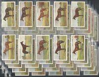 OGDENS, DERBY ENTRANTS 1928, ORIGINAL SET OF 50, ISSUED IN 1928. VG/EXCELLENT.