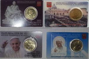 COIN-CARD-VATICANO-50-CENTIMOS-DIFERENTES-ANOS-SC-ENVIO-CERTIFICADO