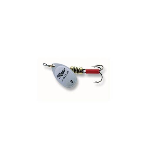 Mepps Spinner AGLIA FLUO Weiß Größe 1//2//3//4//5 zum Auswählen