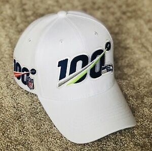 SEATTLE-SEAHAWKS-Cap-Hat-2019-Patch-Style-100th-Season-Anniversary-100-Playoffs