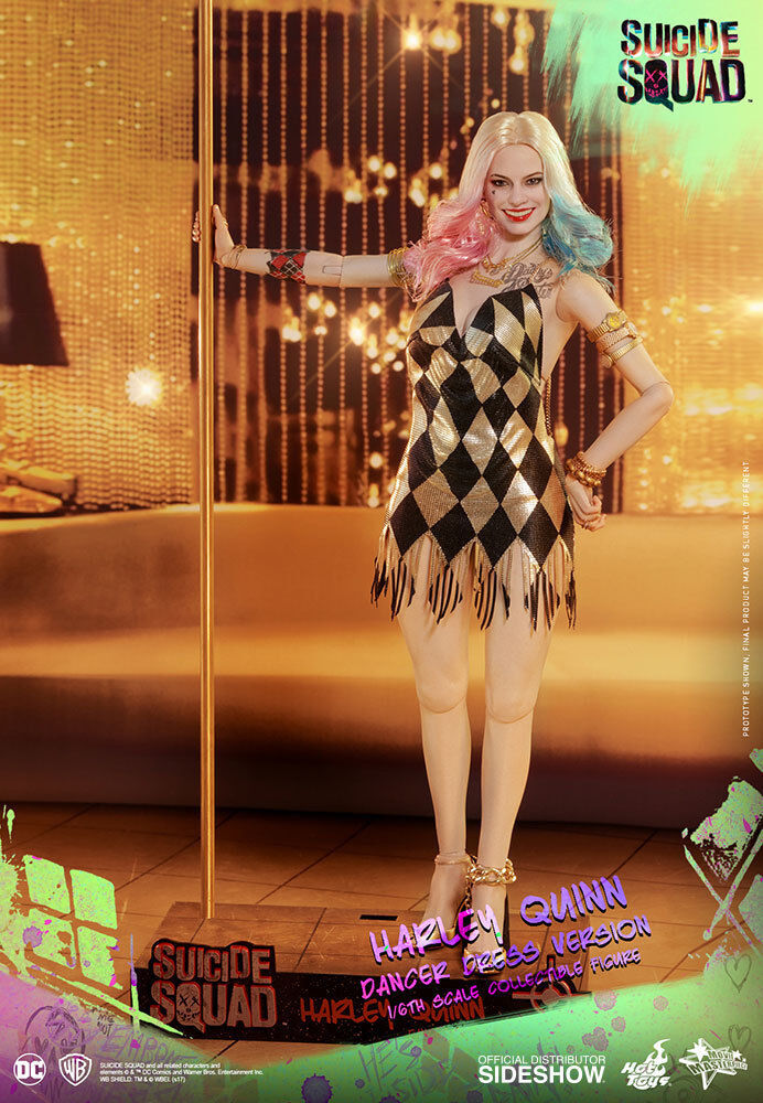 Caliente giocattoli Suicide Squad Squad Squad HARLEY QUINN Dancer Dress Version 1 6 Scale cifra 903185 879ffa