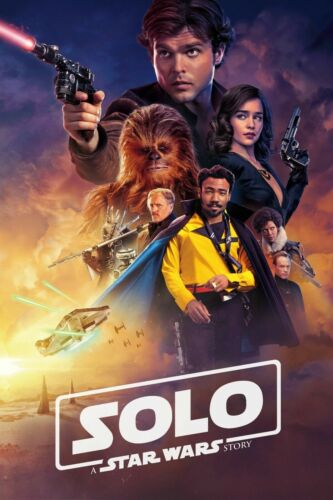 A Star Wars Story Movie Art Silk Poster 24x36inch Solo