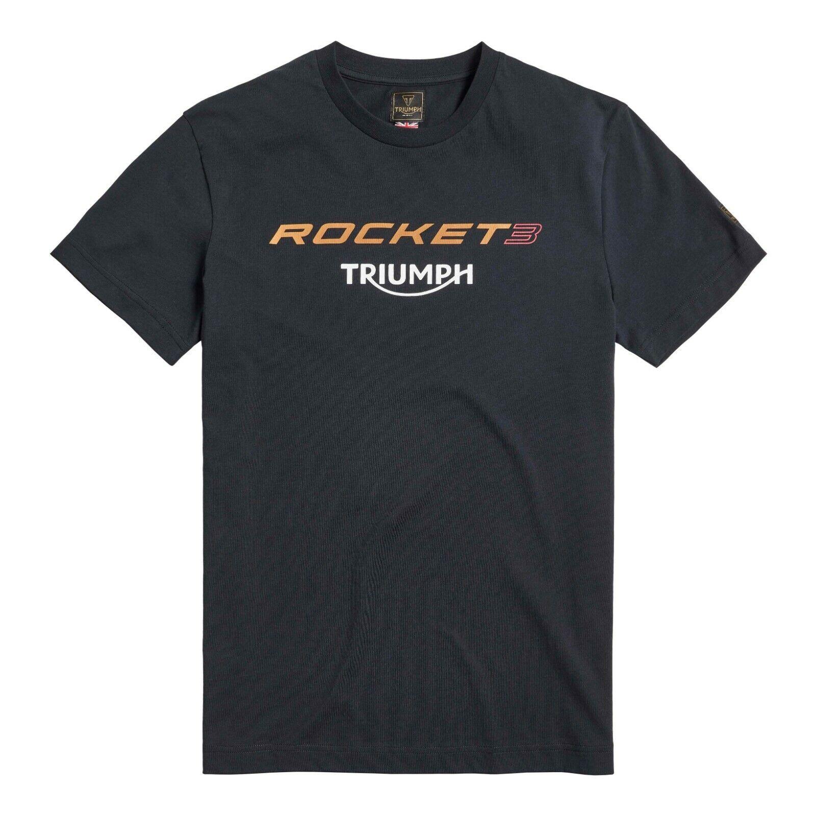 Triumph Rocket Three Black T Shirt
