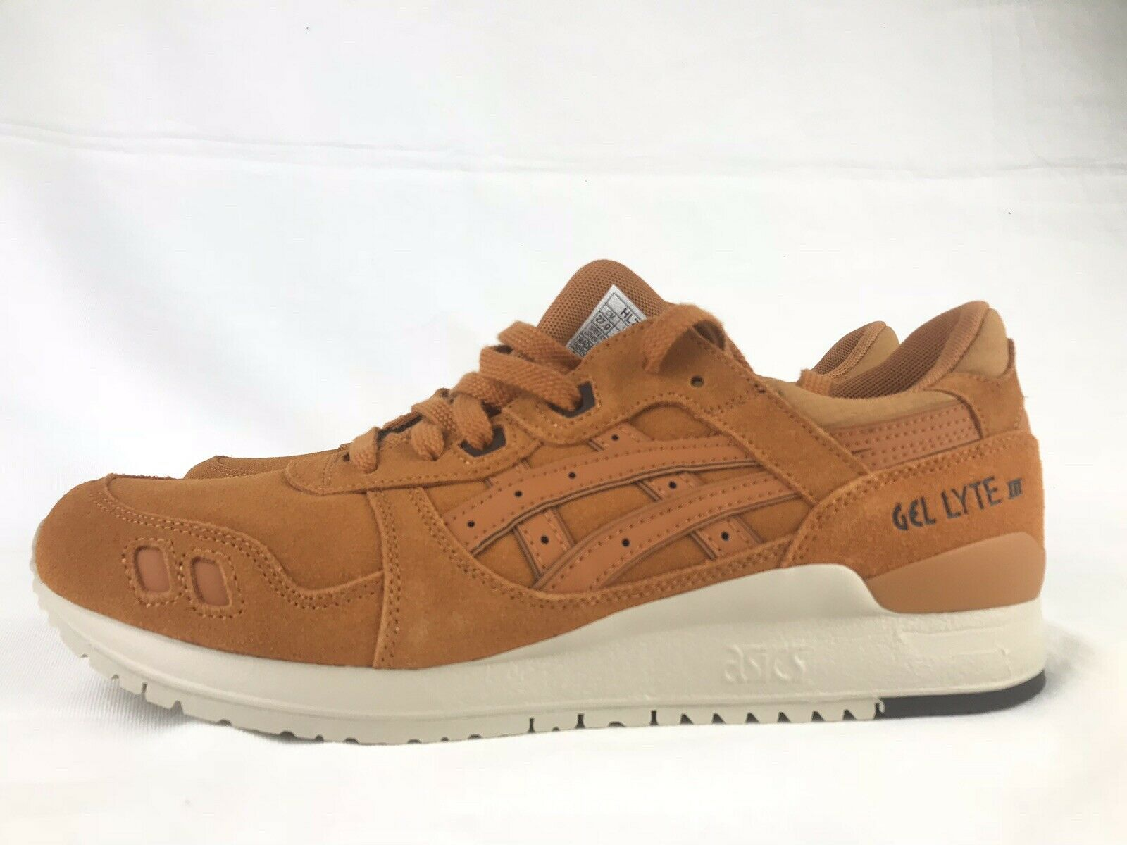 Asics Gel-LYTE Sneaker Honey Ginger Mens Size 10 HL7U2-3131