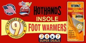 Hot Foot Warmers Heat Warming Heating insole Stickers Pads Outdoors WorkCamping