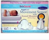 Angelcare Bebesounds Movement Sounds Baby Monitor Power Cord Parent Unit