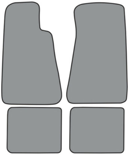 Cutpile Die Cut 4Pc FM89F FM18R Floor Mat for 1994-96 Chevy Impala