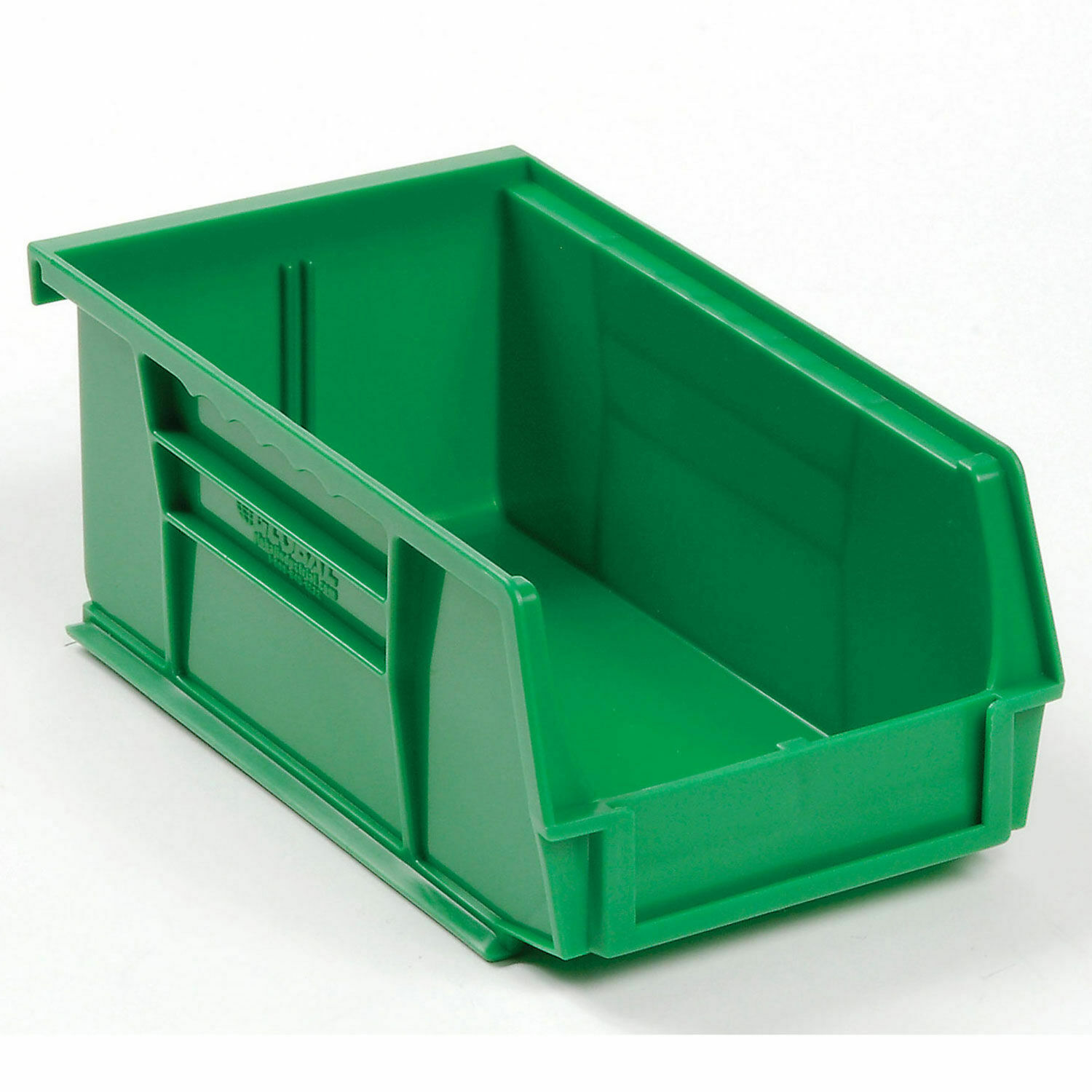 Pack of 10 RetailSource 17 7//8 x 8 3//8 x 4 Red Plastic Shelf Bin Boxes