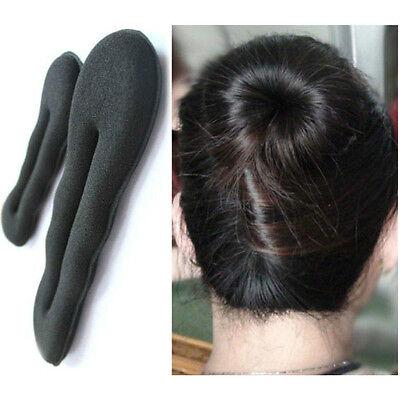 1Pcs Hair Styling Maker Tool Accessories Magic Sponge Clip Foam Bun Curler Twist