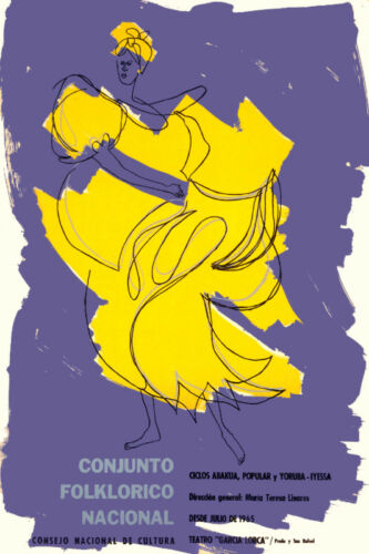 Cuban poster.ABAKUA Afro-Cuba Dance.Santeria.art.Decor.Home interior wall design