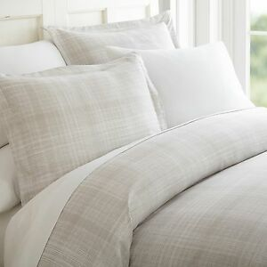Hotel-Quality-3-Piece-Thatch-Patterned-Duvet-Cover-Set-4-Beautiful-Colors