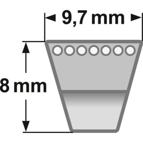 Scag correas trapezoidales sa30447 para mano cortacésped-conducción de propulsión Sabo