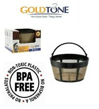 Goldtone Brand Reusable 8-12 Cup Basket Coffee Filter Fits Cuisinart