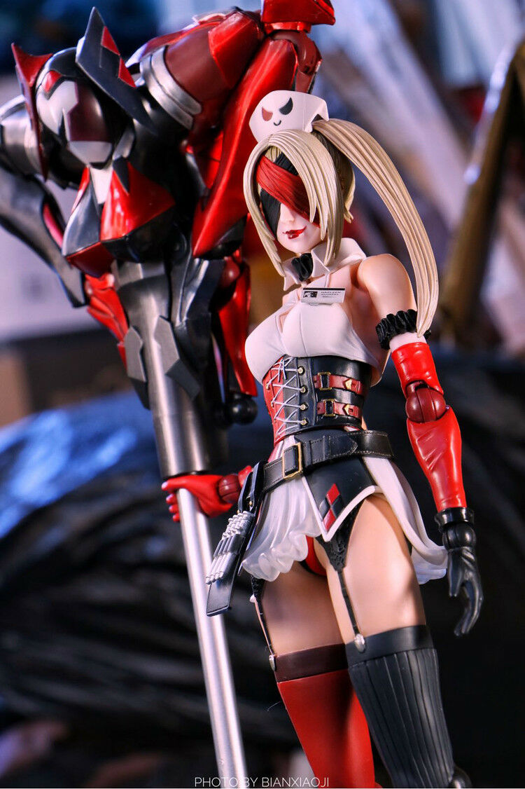 Playarts Playarts Playarts Kai Harley Quinn Figure Female Joker TWO Suit Collection Batman toy f75d2e