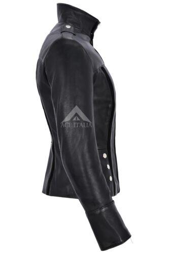 Leather Jacket Black Style Fashion Biker Ladies Suede FSx50wqp