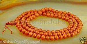 SARTORIALE solare Pietra Perle mala ORO fiume buddismo BUDDHA CATENA 108 13c