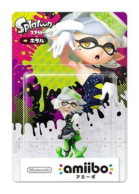 NEW Nintendo 3DS Wii U Amiibo Squid Sisters Marie Hotaru Splatoon Japan F/S
