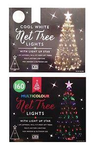 Image Is Loading New 160 Multi Action Lighting Net Christmas Tree