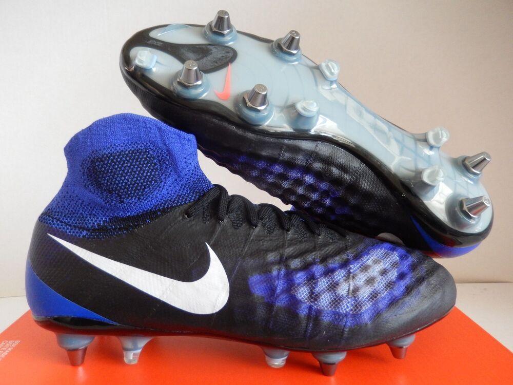 NIKE MAGISTA OBRA II  SG PRO Noir-bleu-Blanc Homme  II Chaussures de sport pour hommes et femmes 1635c1