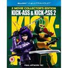 Kick-Ass / Kick-Ass 2 (Blu-ray, 2013, 2-Disc Set)