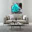 Canvas-Wall-Art-Teal-Rose-Flowers-Pictures-Wall-Decor-Prints-Painting-Framed thumbnail 2