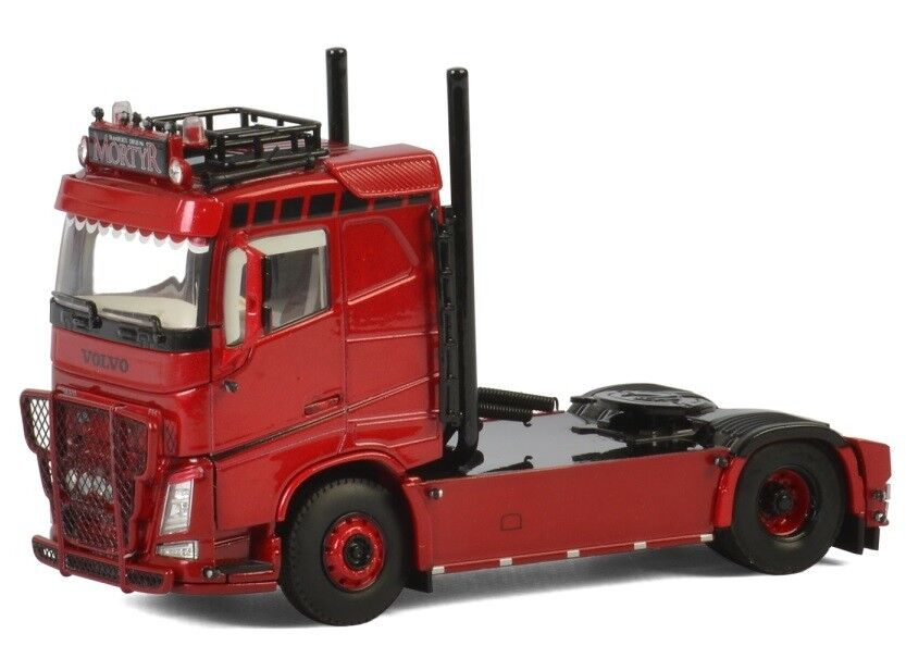 WSI01-2588 - Camion 4x2 solo VOLVO FH4 Sleeper Cab aux Colors MORTYR - 1 50