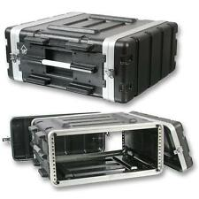 "NEW PA DJ 4U Equipment Rack Mount Flight Storage Case.Concert.19"".4 space.4ru"