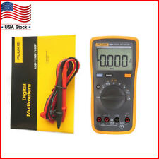 FLUKE 15B+ F15B+ Digital Multimeter Meter DMM 4000 Counts Auto/Manual AC DC V/A