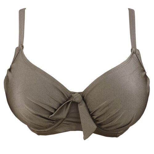 1130 Stardust Pour Moi Azure Non Padded Underwired Bikini Top