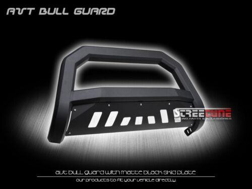 Matte Black AVT Series Bull Bar Bumper Grille Guard For 02-09 Trailblazer//Envoy