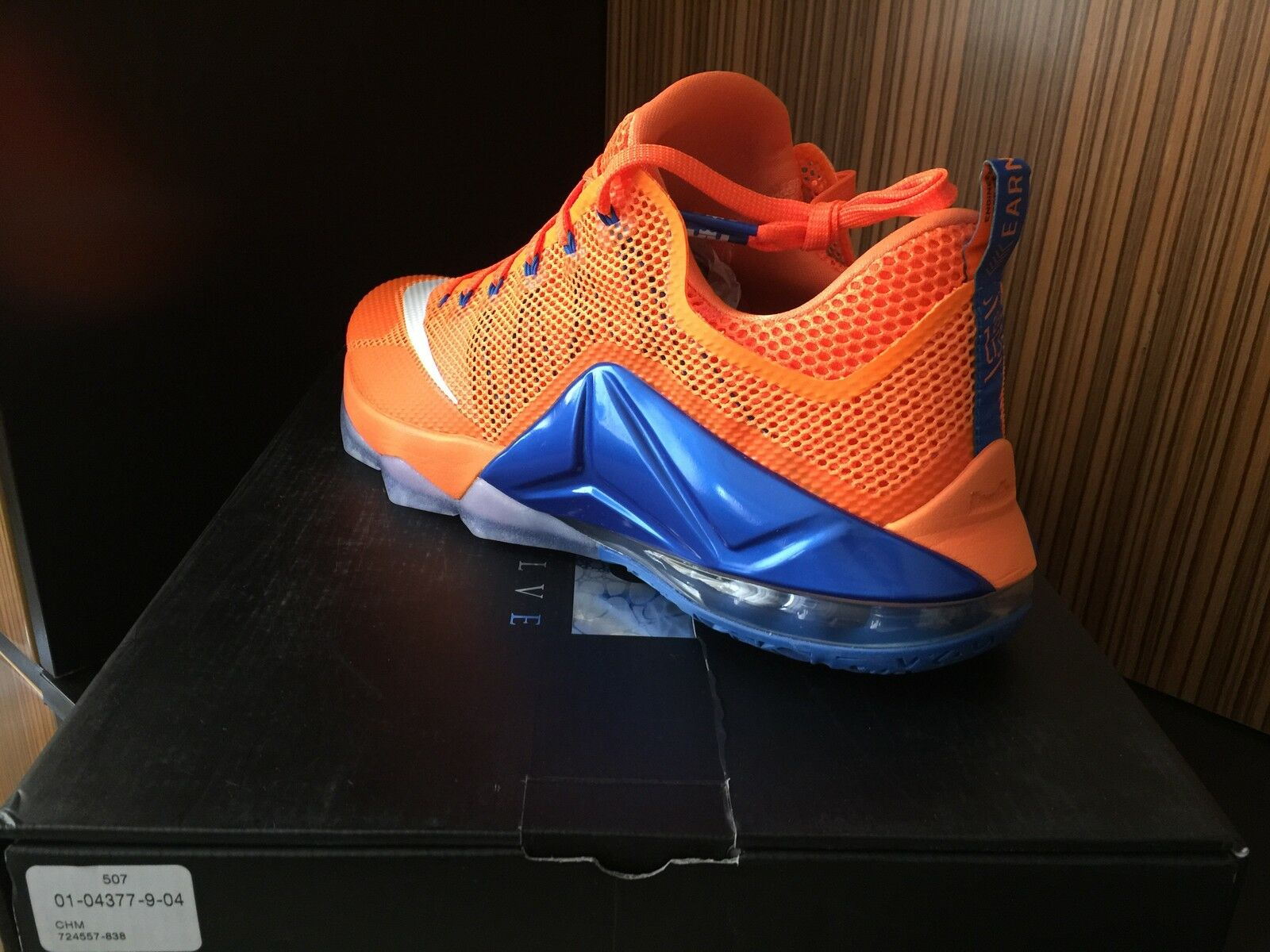 Nike AIR LEBRON XII 13 - 8 Elite New York Knicks Gators Orange Blue Red 12 11 10
