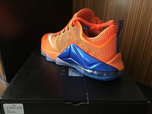 Nike AIR LEBRON XII 13 - 8 Elite New York Knicks Gators Orange Blue Red 12 11 10