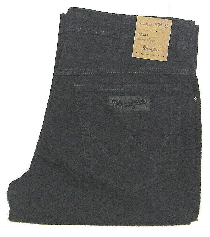 Wrangler Texas Stretch Grey - bluee Navy Size Selection w12132134 1.wahl Choice