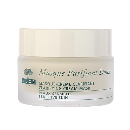 1 PC NUXE Clarifying Cream-Mask Face and Neck With Rose Petals 1.8oz,50ml #8795