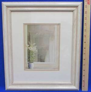 French Serenity By Fabrice De Villeneuve Framed Matted Print Lily ...