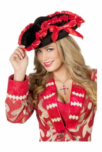 WIL Piratenhut Dreispitz Piratin Karneval Fasching