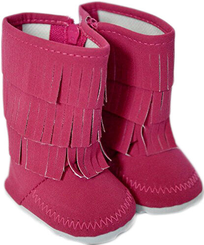 My Brittany/'s Pink Fringe Boots For American Girl Dolls