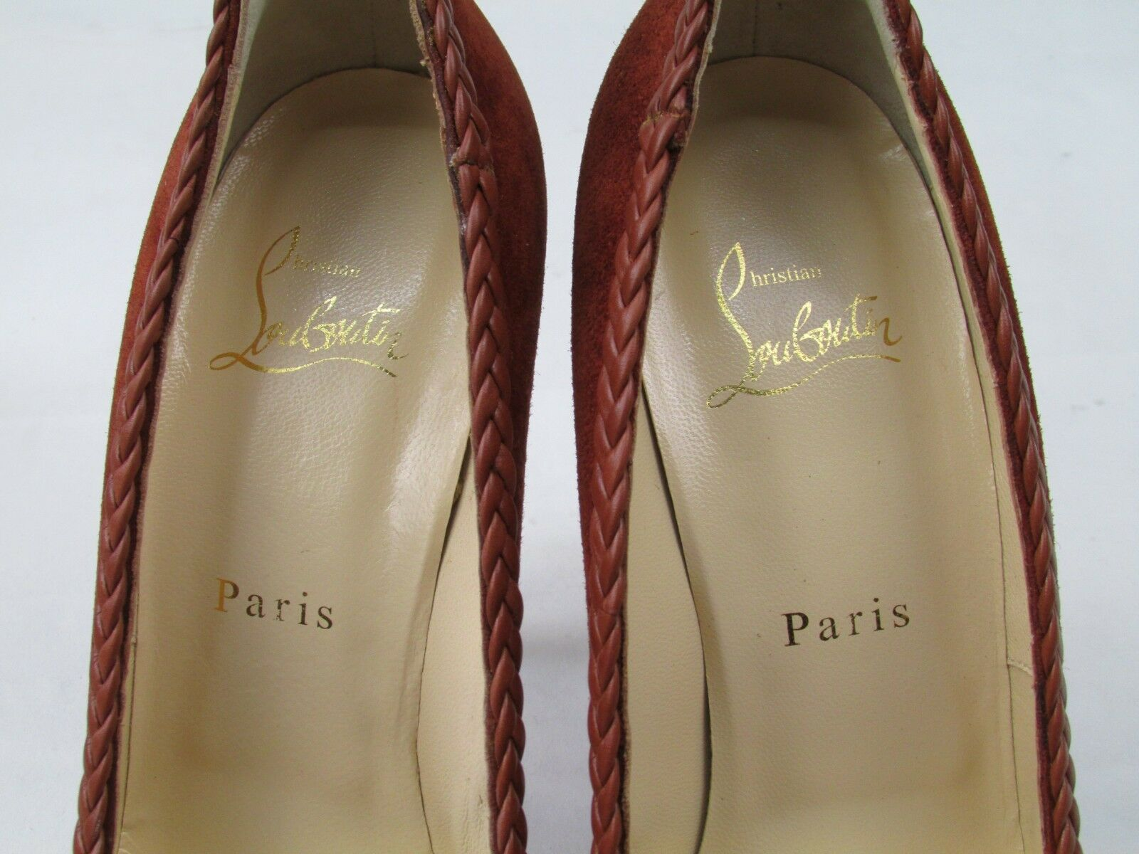 Christian Louboutin Vizir Pump 140 Veau Velours/Calf BNWB Heels 38.5 UK 5.5 BNWB Velours/Calf 43c5bb