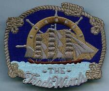 Aufnäher Segelschiff Windjammer Patch Sailing Ship Segeln Marine Seefahrt
