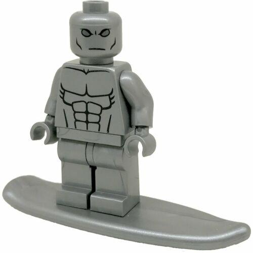 Custom Silver Surfer Minifigure Marvel X men Fantastic 4 mini figure