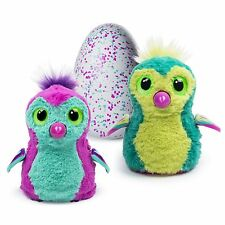 NEW Hatchimals PINK/TEAL PENGUALA, Spin Master Hatching Egg Interactive Creature