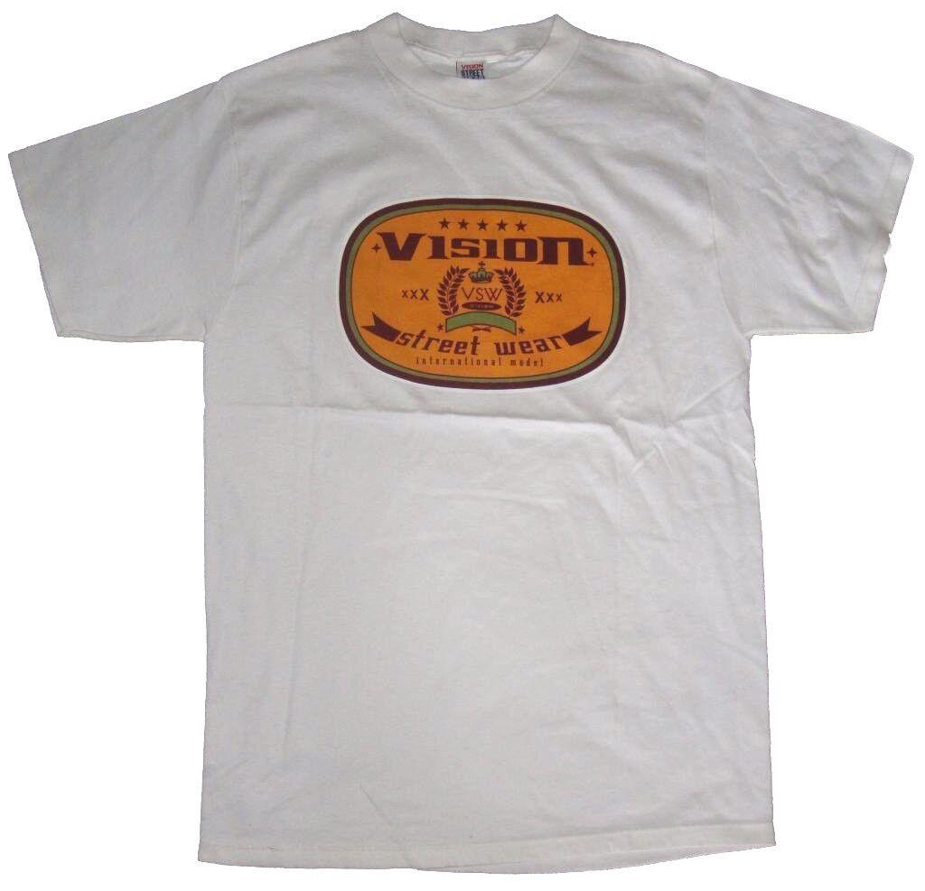 Vision Street Wear '90s Jahre Skateboard T-Shirt - International Xxx L Weiß - L Xxx 87c5aa