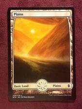 Battle for Zendikar Full Art Land  Plains #250  VO  -  MTG Magic (Mint/NM)