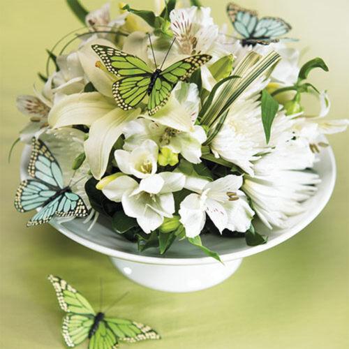 """10 cm lila Dekoschmetterlinge Tortendeko SALE Schmetterlinge /""""Pastell/"""" 1 Stk"""