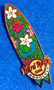 Honolulu-Hawai-Hibisco-Flores-Swallow-Cola-Surf-2007-Hard-Rock-Cafe-Pin