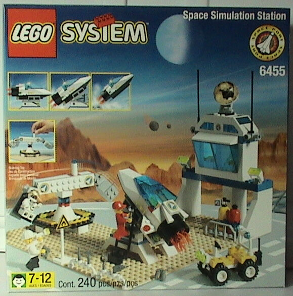Lego Town Space Port 6455 Space Simulation Station Station Station  NEW SEALED ccfc71
