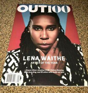 out magazine 100 (2017/2018) - Back Issue Lena Waithe