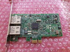 HP-332-T-Double-port-Gigabit-RJ-45-pleine-hauteur-Ethernet-Adaptateur-reseau-616012-001