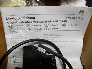 Interface-VW-Mediabuchse-Modul-Multi-Media-5N0057342-B-Original-VW