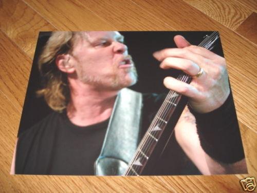 Metallica James Hetfield Cool 8x10 Live Promo Photo